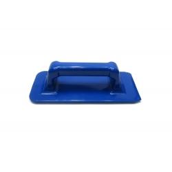 Держатель абразивного пада под ручку (скурблок) 23х10см. синий