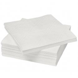 Салфетки белые, 100 листов