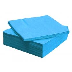 Салфетки голубые, 100 листов