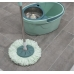 Набор для уборки ведро на колёсиках с металлической центрифугой 16 л