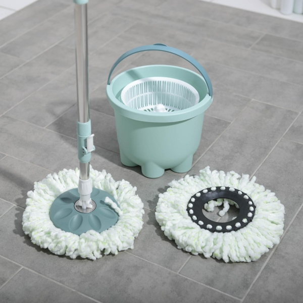 Набор для уборки мини ведро с пластиковой центрифугой 7,2 л