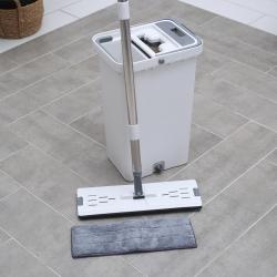 Набор для уборки: ведро с отсеками для полоскания и отжима 13 л