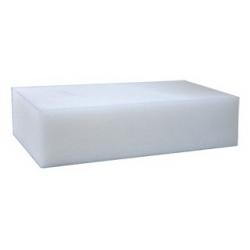 Губка белая 20,5х12х5 см.