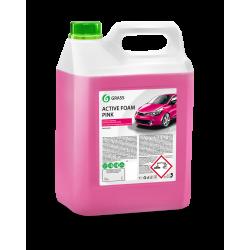 Активная пена Grass «Active Foam Pink» цветная пена, 6кг