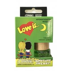Ароматизатор воздуха Contex подвеска Love is... (Свежесть тайского арбуза) 8мл