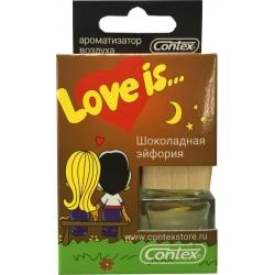 Ароматизатор воздуха Contex подвеска Love is... (Шоколадная эйфория) 8мл