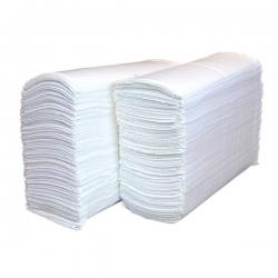 Полотенца листовые Z-сл. 2-сл. целлюлоза 34гр. белые, 200 л/пачке