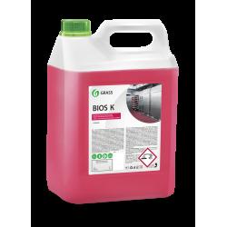 Высококонцентрированное щелочное средство Grass «Bios K», 5,6кг