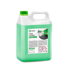 Концентрированное щелочное моющее средство Grass «Super Cleaner», 5л
