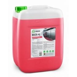 Высококонцентрированное щелочное средство Grass «Bios K», 22,5кг