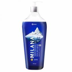Гель для душа Grass Milana MEN «Таинственная арктика» с маслом эвкалипта, 750мл