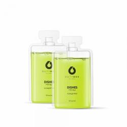 Средство для мытья посуды - концентрат DutyBox «DICHES», 2x50 мл