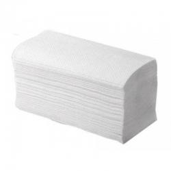Полотенца листовые V-сл. 1-сл. Серо-белые 35гр. 200 л/пачке