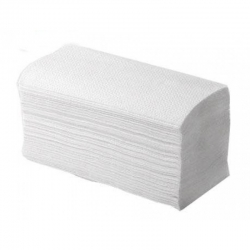 Полотенца листовые V-сл. 1-сл. Серо-белые 35гр. 250 л/пачке