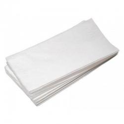 Полотенца листовые V-сл. 2-сл. целлюлоза 34гр. белые, 23х22см., 200 л/пачке