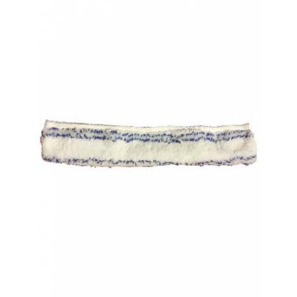Шубка для мытья окон, микрофибра с мягким абразивом 45 см