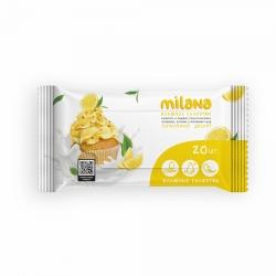 Влажные антибактериальные салфетки Grass Milana «Лимонный десерт», 20шт