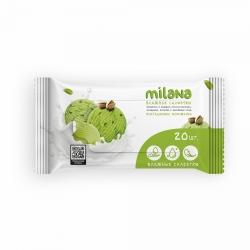Влажные антибактериальные салфетки Grass Milana «Фисташковое мороженое», 20шт